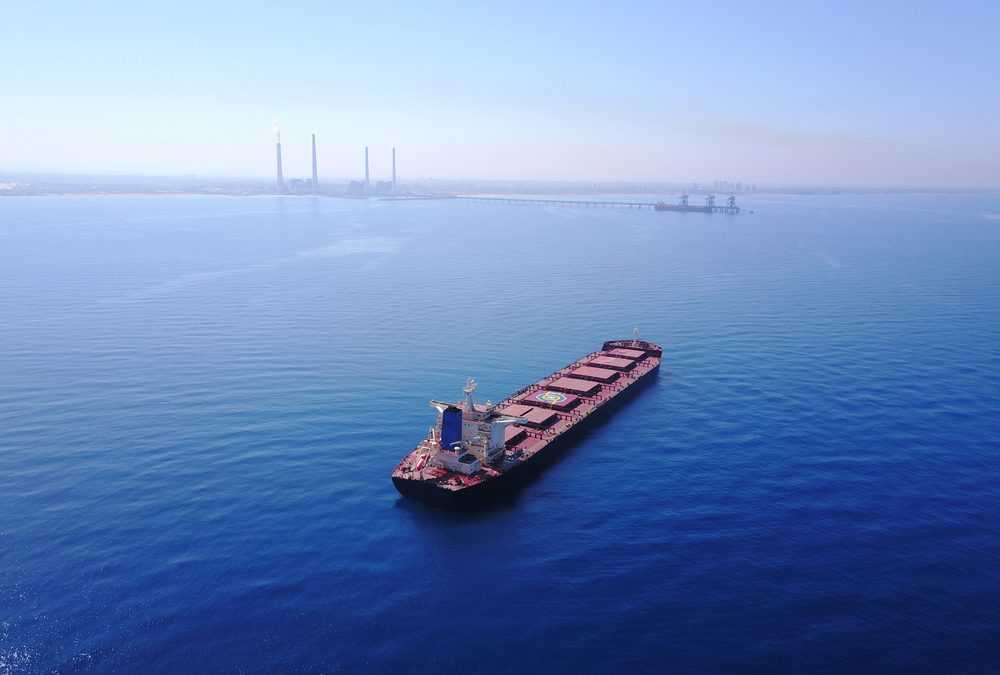 Bulk Carrier Completes Fully Carbon Offset Voyage from South Africa to Europe