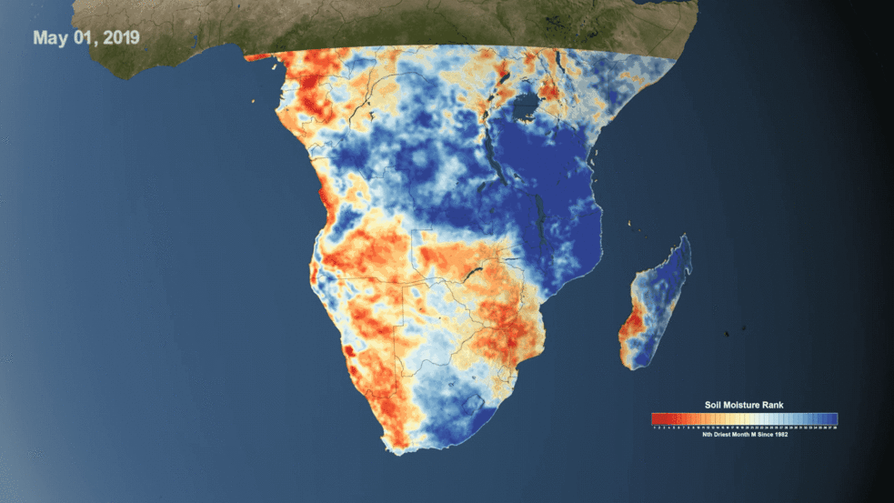 Using NASA Data to Monitor Drought and Food Insecurity