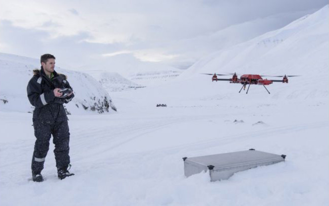 Drones a Vital Tool in Climate Change Research