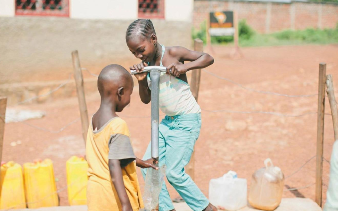 Optimizing well placement to eliminate water poverty