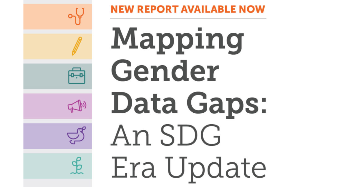 Where has there been progress toward filling gender data gaps? What gaps remain?