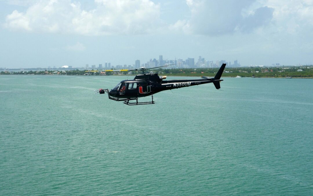 Manatees to molecules: the H125 Helicopter Observation Platform gathers ocean data